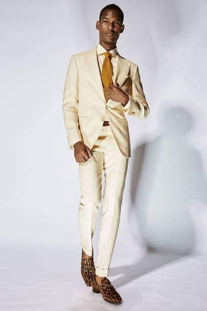 abdb302723e02 Tom Ford Spring Summer 2018 Menswear show report   British Vogue