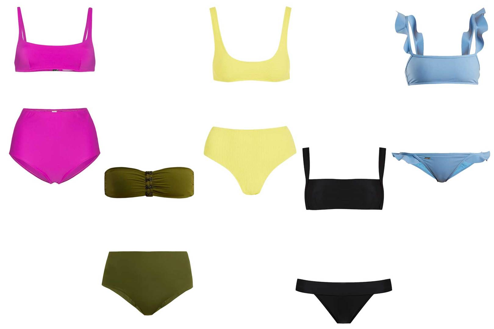 798eb1a676 The Best Bikinis For Every Size, Shape And Inclination | British Vogue
