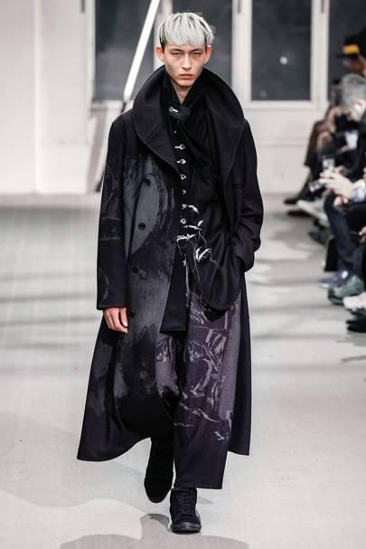 887d57213a92 Yohji Yamamoto Autumn Winter 2019 Menswear show report