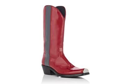 Calvin Klein's western boots