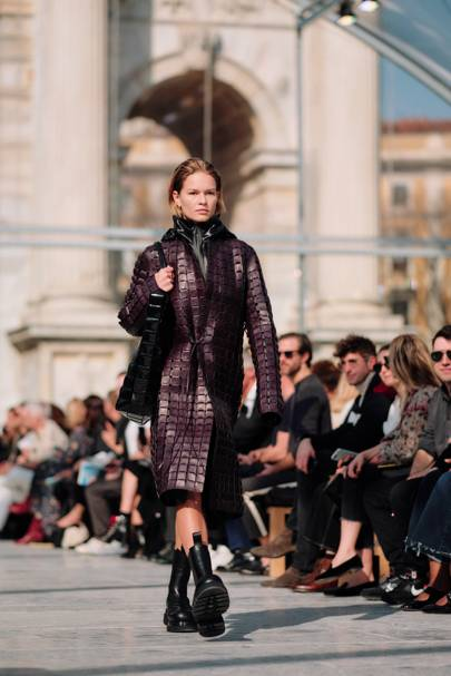 The Bottega woman is now a decidedly daytime gal