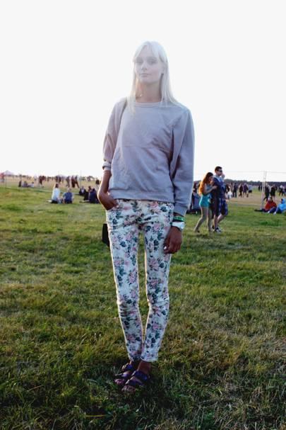 Marija Marc, fashion student