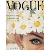 Jean Shrimpton, Vogue June 1962, by David Bailey. Hat by Simone Mirman.