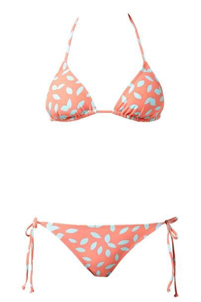 Printed bikini, £65
