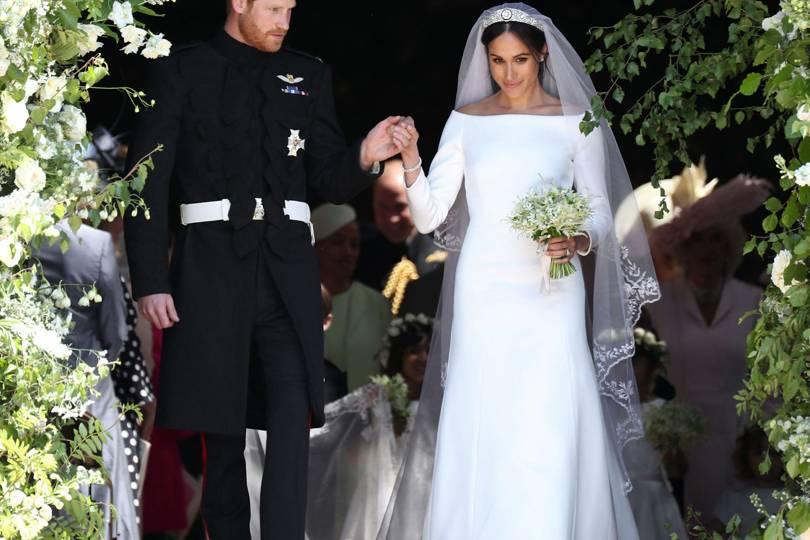 The Vogue Verdict On Meghan Markle\'s Givenchy Wedding Dress ...