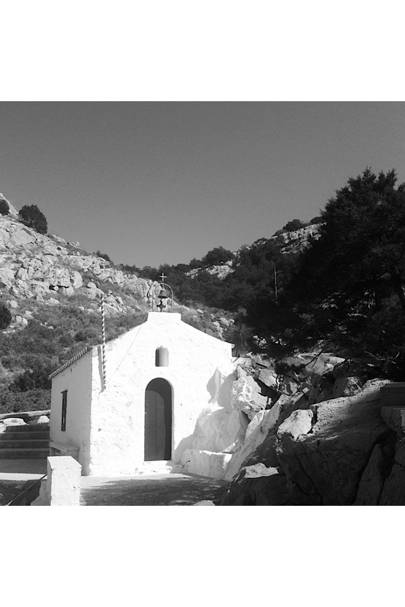 Chapel of love. Hydra