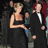 Diana wearing the original Azagury dress to her 37th birthday party, 1997