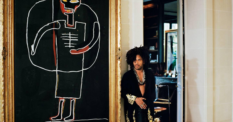 Inside Lenny Kravitz's Paris Home | British Vogue