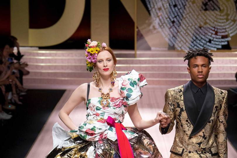 e248f44bfaa6 Dolce   Gabbana Spring Summer 2019 Ready-To-Wear show report ...
