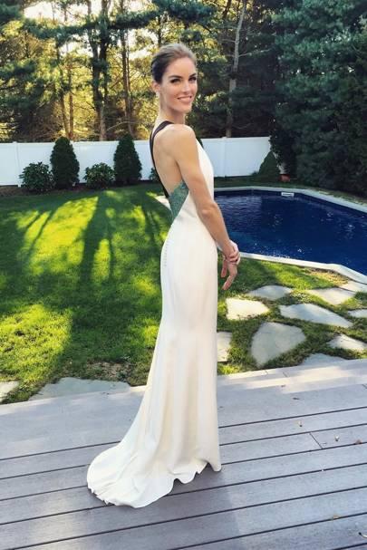 Hilary Rhoda Wedding and Dress - Sean Avery Married ...