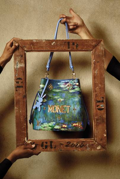 Hasil gambar untuk Louis Vuitton's New Cult Collectable: A Monet-Printed Handbag
