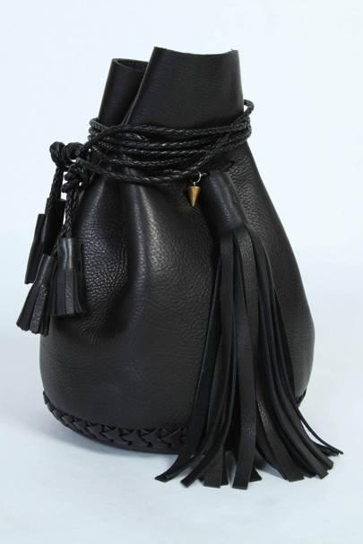 Wendy Nichol black bullet bag, £635