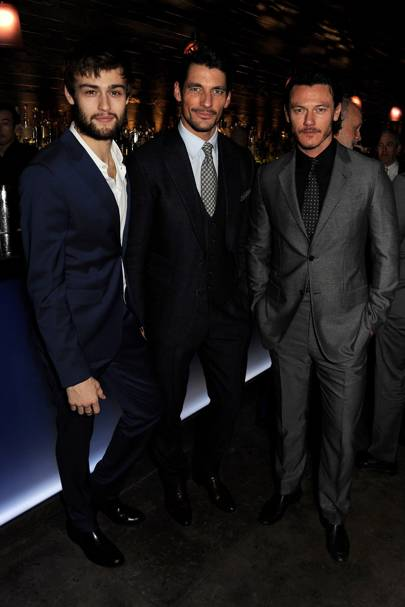 London Collections: Men Closing Dinner - January 8 2014
