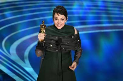 Olivia Colman will not be shushed