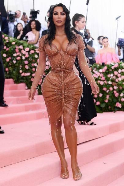 Kim Kardashian-West Brought Thierry Mugler Out Of Retirement