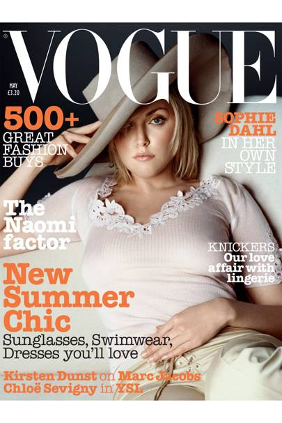 Vogue Cover, May 2002