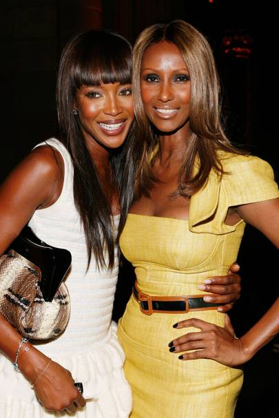 Iman on the Diversity Coalition