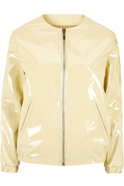 White patent jacket, £220