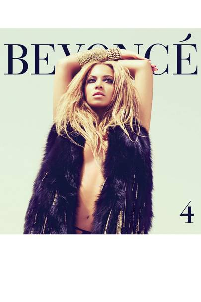 The cover of Beyoncé's album 4, 2011