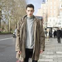 Dylan Jones, model
