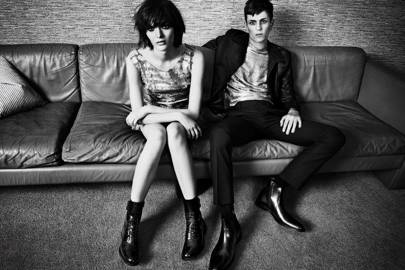 Behind The Scenes On The Kurt Geiger Autumn/Winter 2013-14 Campaign