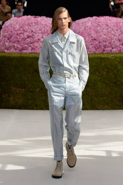 Dior Homme Spring Summer 2019 Menswear show report   British Vogue 140aaa57245