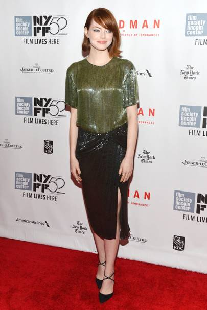 Birdman premiere,  New York - October 11 2014