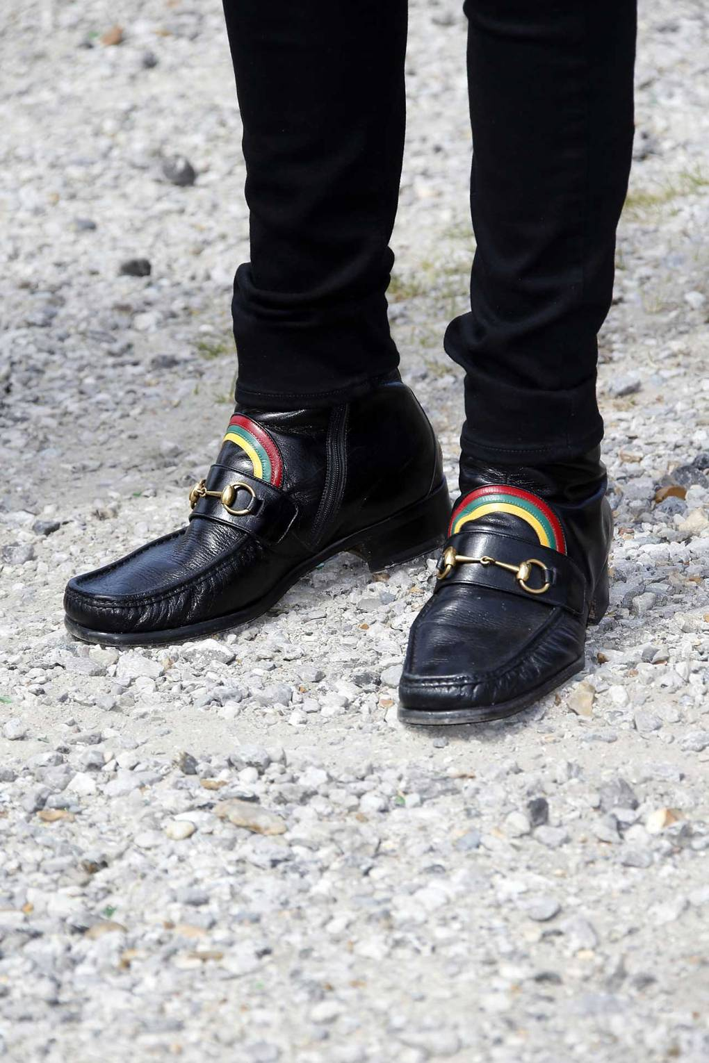 c284df3dca7 Harry Styles Is Raffling Off His Gucci Loafers For The UK s Oldest LGBT  Charity