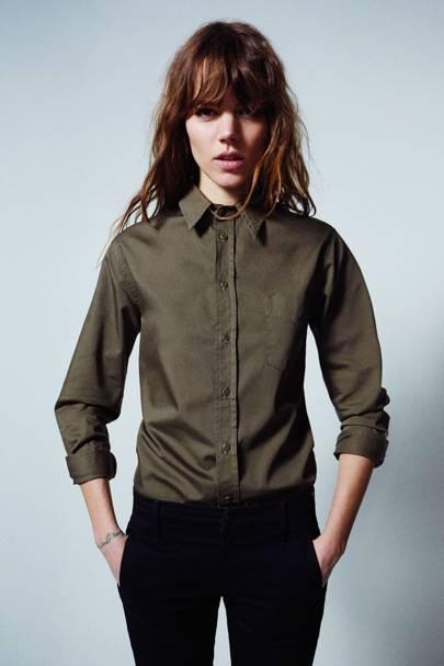 Foxy Boxy shirt, £218; jeans, £215