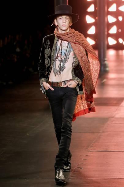 Flamboyant Androgynous Menswear Fashion Trend British Vogue