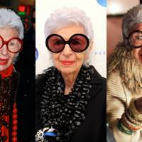 Iris Apfel's round opticals