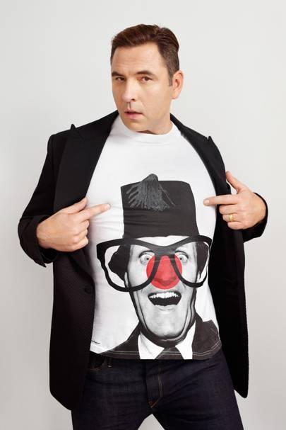 Comedian David Walliams