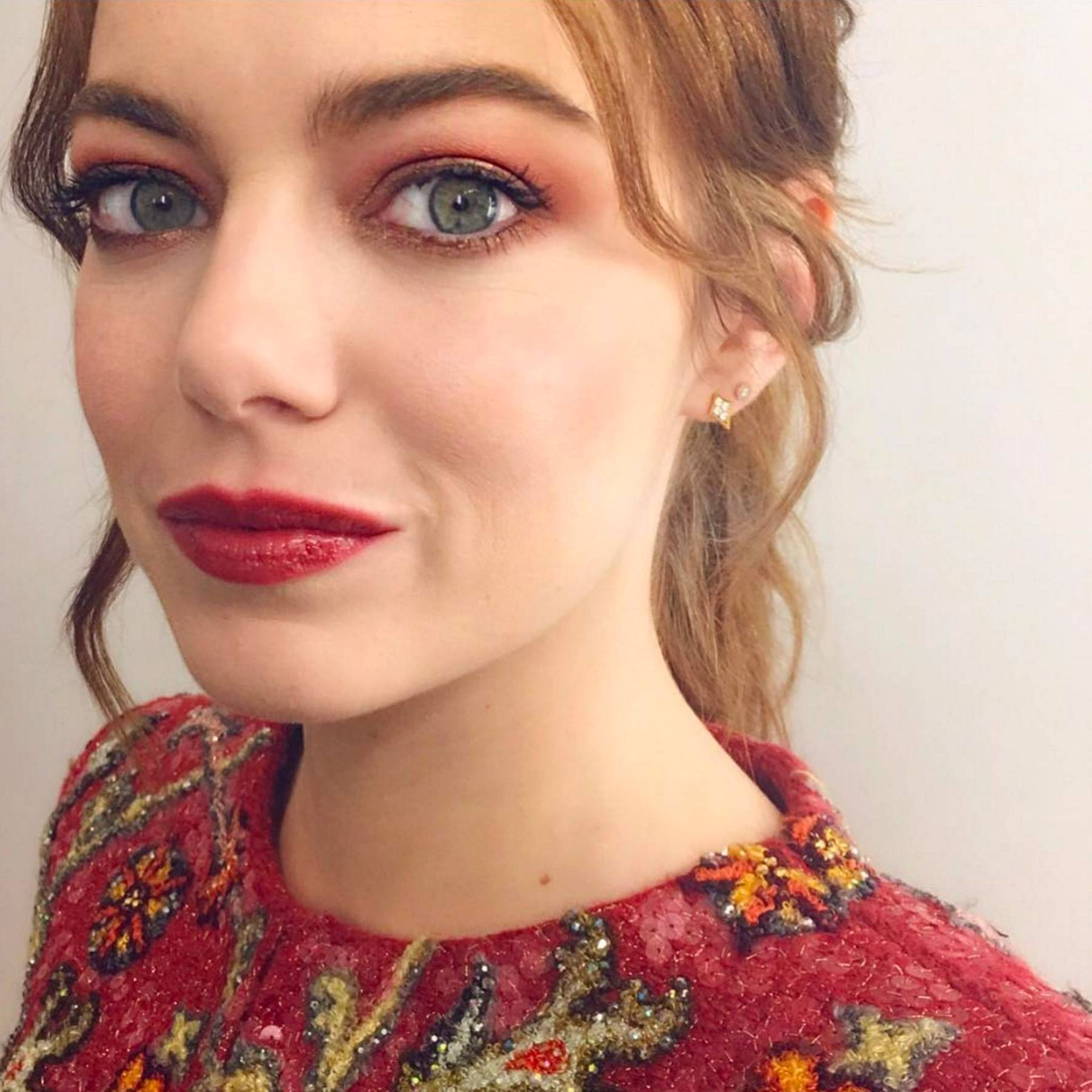 Emma Stone Best Makeup For Redheads British Vogue