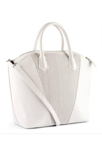 An all-white bag
