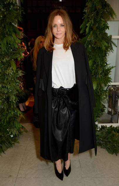 Stella McCartney store Christmas lights switching on ceremony, London – December 6 2017