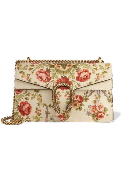 f96fee5c57e Dionysus medium floral-print leather shoulder bag
