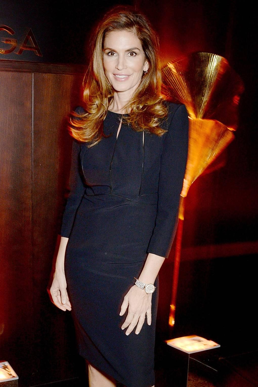 cindy crawford supermodel interview omega watch ambassador   british