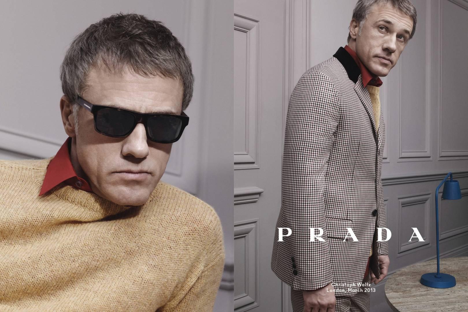 Prada AutumnWinter 2013 Campaign pics