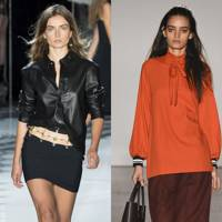 KICK OUT: The leather shirt
