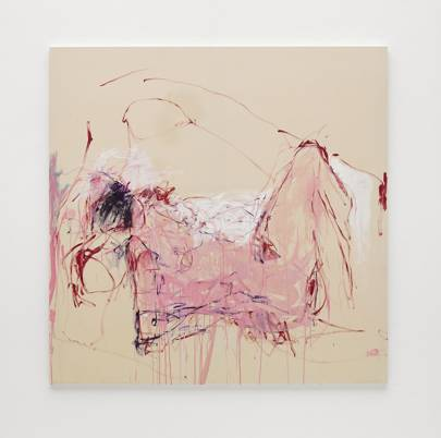 Tracey Emin at the White Cube Bermondsey
