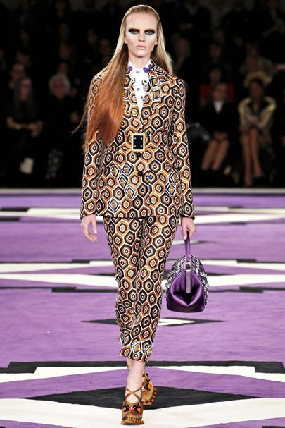The Geometric Suit - AW12