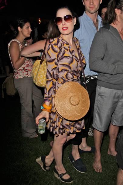 Coachella Music Festival All The Best Celebrity Fashion