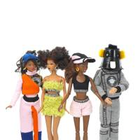 Barbie dressed by Nasir Mazhar
