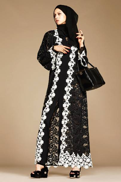 Dolce And Gabbana Hijab And Abaya Collection British Vogue