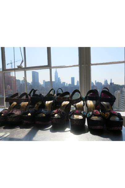 SHOES! (and the Empire State Building)