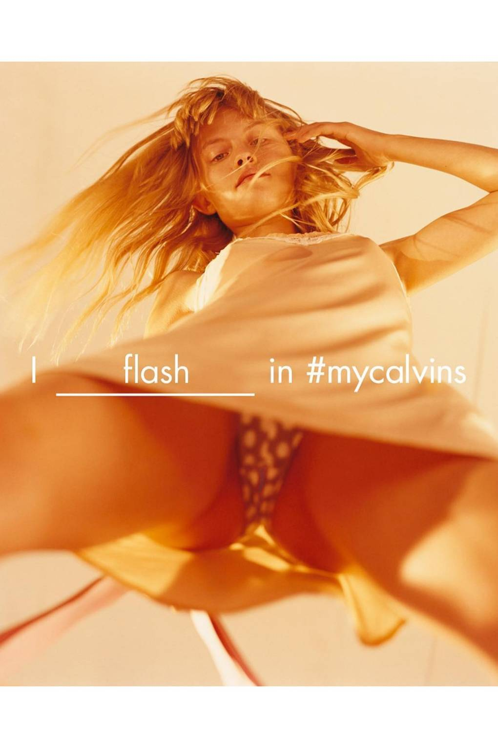 Image result for calvin klein 2016 campaign upskirt