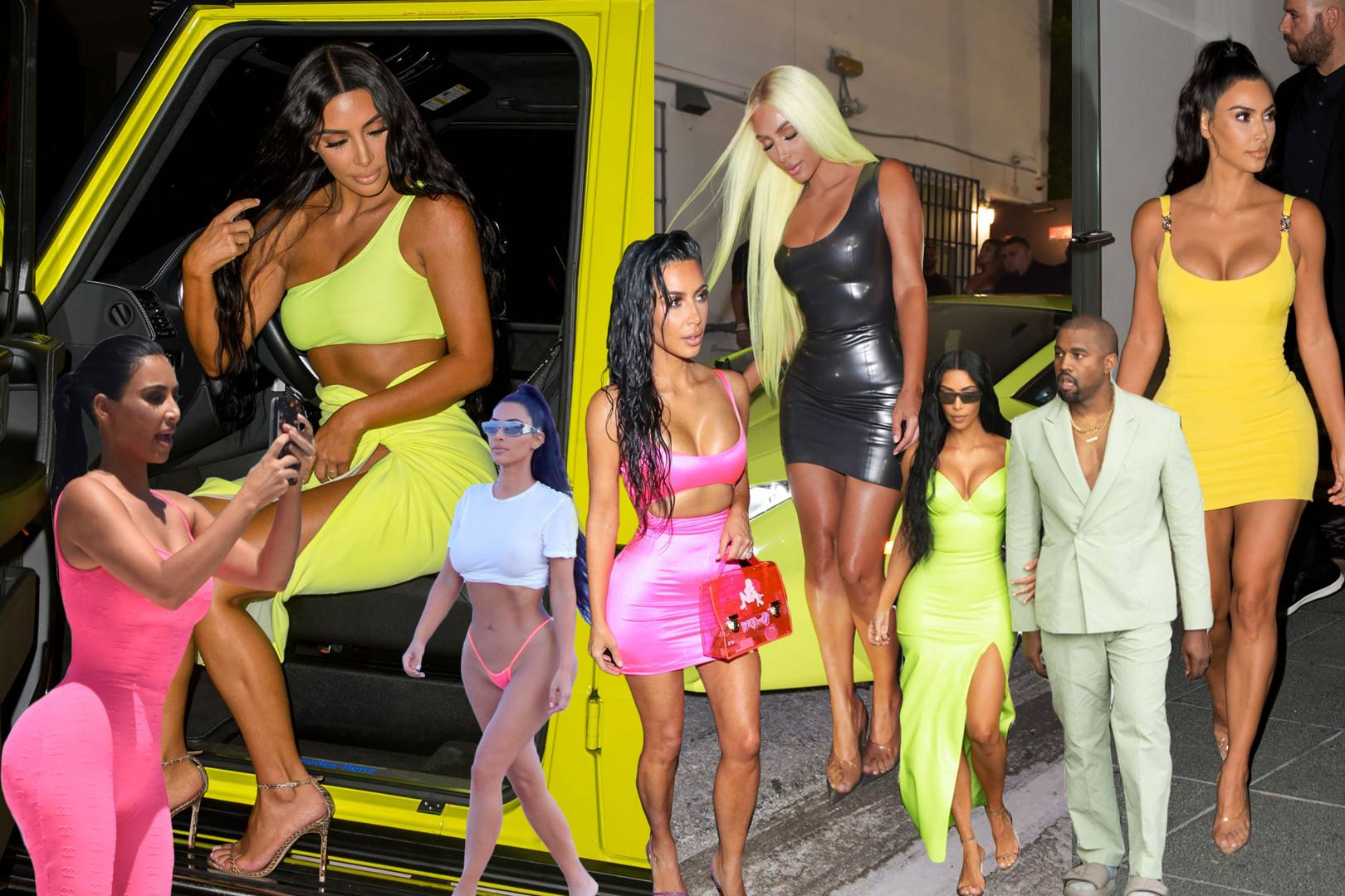 Image result for celebs in neon