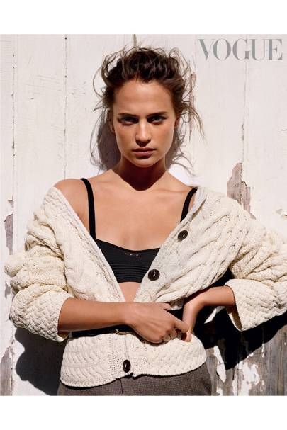ALICIA VIKANDER takes to the cover of the August issue of Vogue and, in the accompanying interview with Tom Lamont, the Oscar-winning star reveals what ...