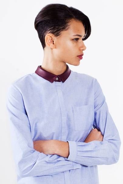 Contrast collar shirt, £240