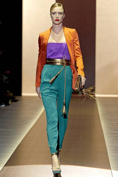 9ea78caa407 Gucci Spring Summer 2011 Ready-To-Wear show report
